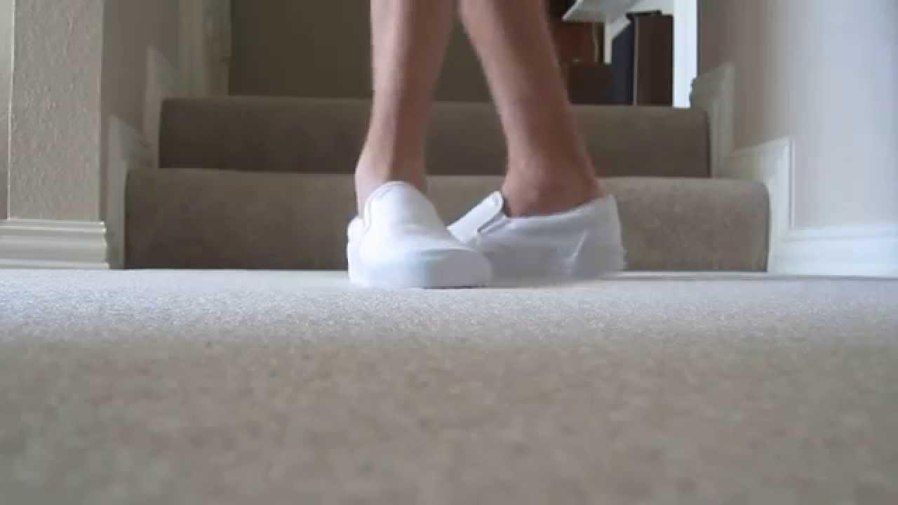 Womens Vans Slip Ons | White Van Slip Ons | Knock Off Vans