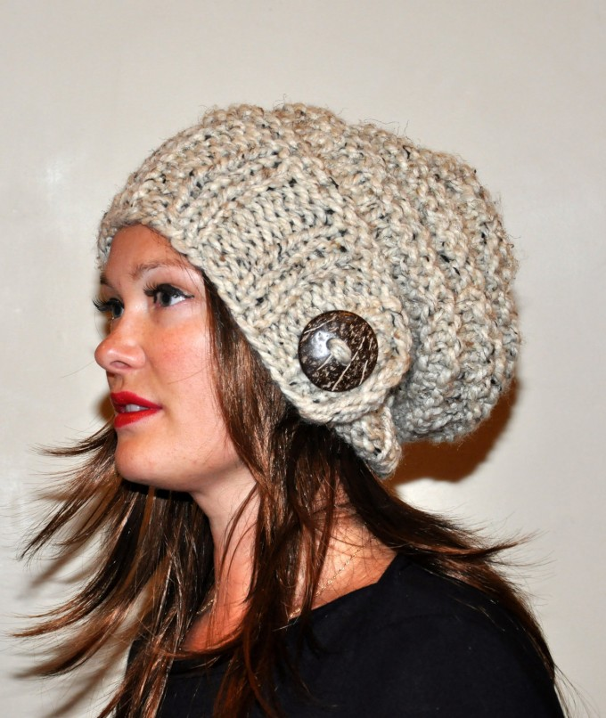 Womens Winter Hats With Brim | Beanie Hats For Women | Hipster Beanie