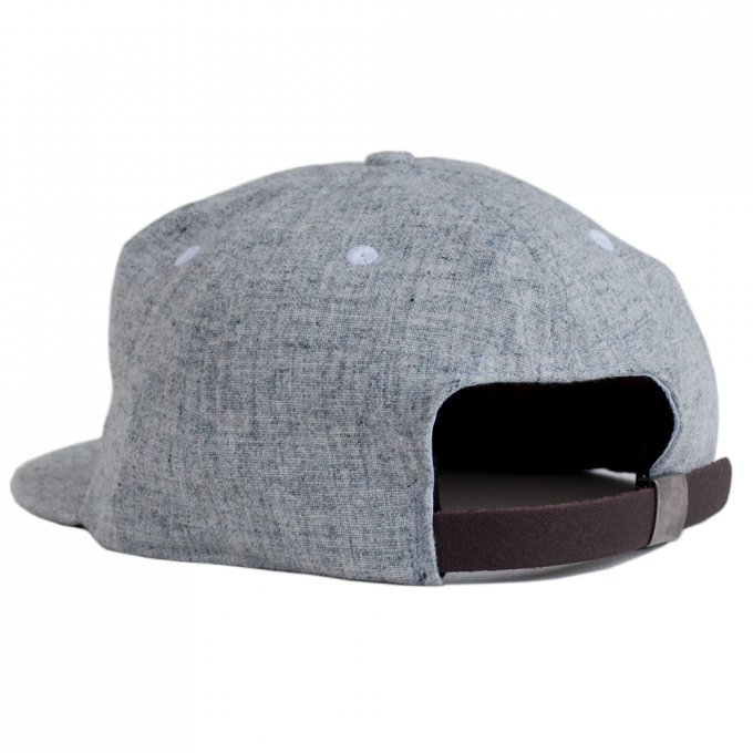 Wool Baseball Cap | Grey Wool Baseball Cap | Flat Billed Hats For Guys