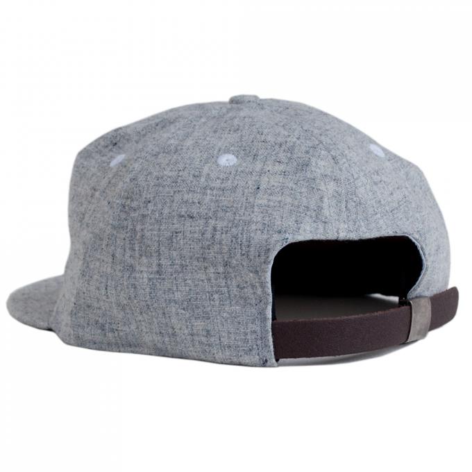 Wool Baseball Cap | Grey Wool Baseball Cap | Flat Billed Hats For Guys