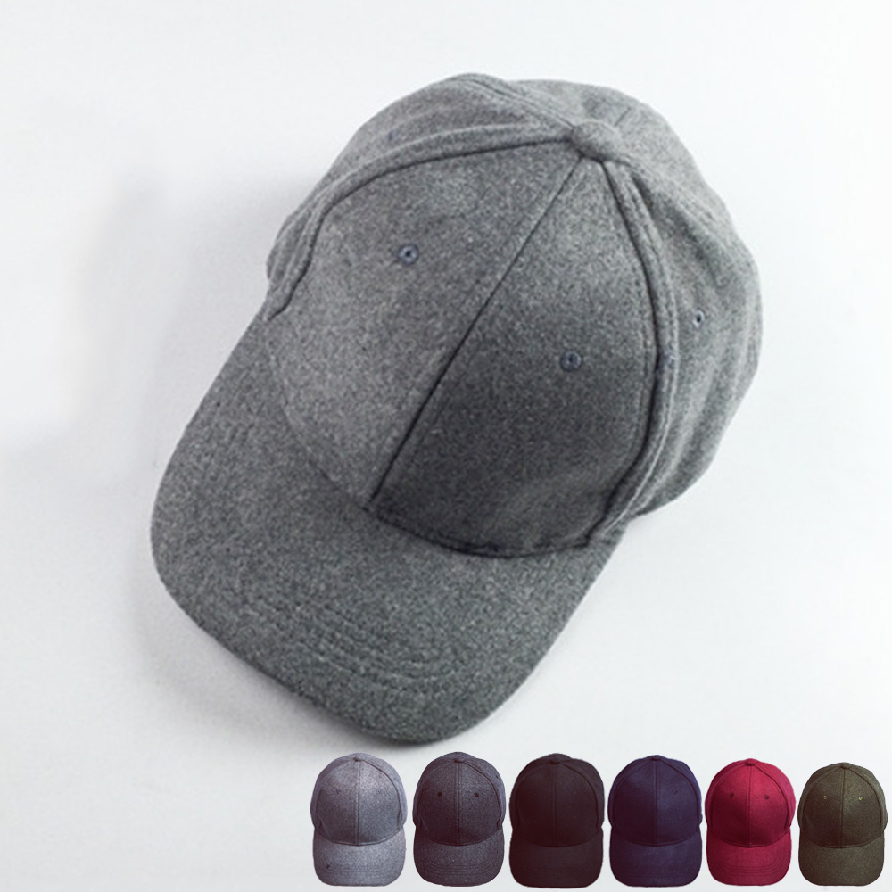 Wool Baseball Cap | Mens Plain Baseball Caps | Stylish Baseball Hats
