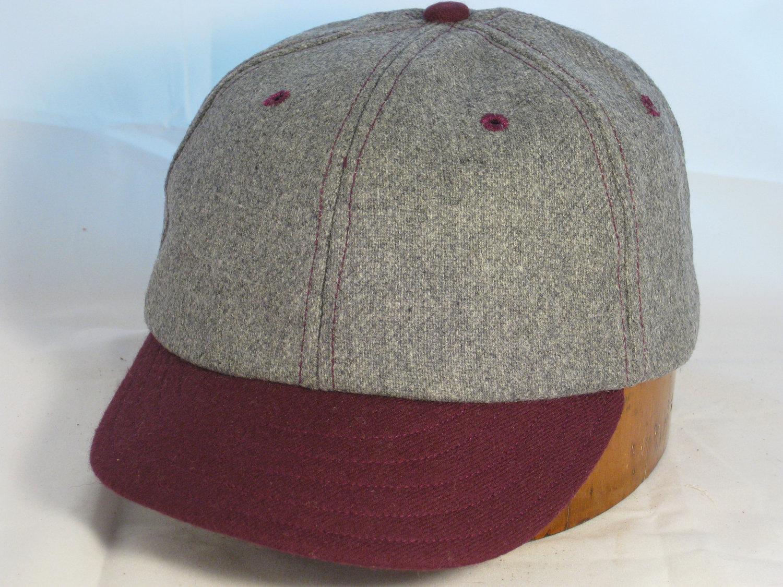 Wool Baseball Cap | Plain White Baseball Cap | Warm Baseball Cap
