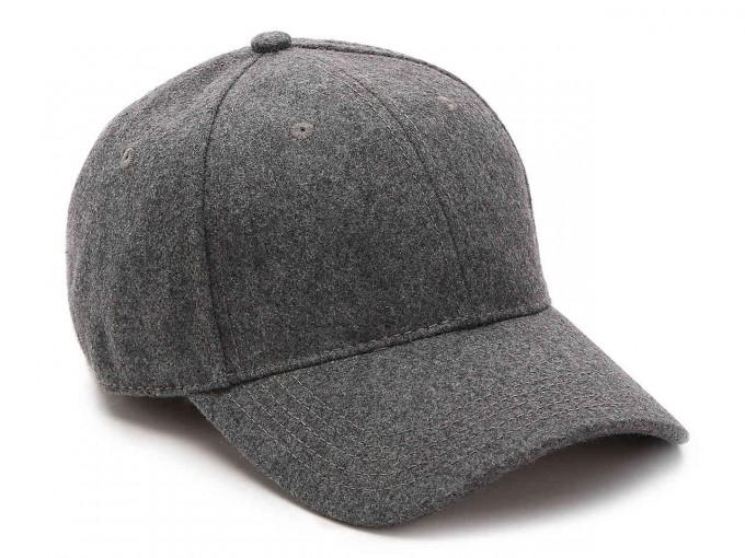 Wool Baseball Cap | Wool Ball Cap | Plain White Baseball Cap