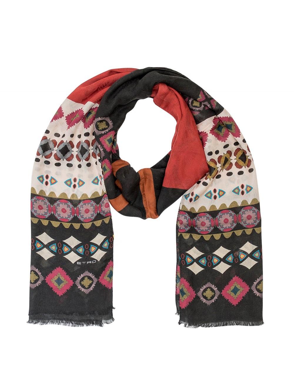 Wool Paisley Scarf | Etro Skirt | Etro Scarf