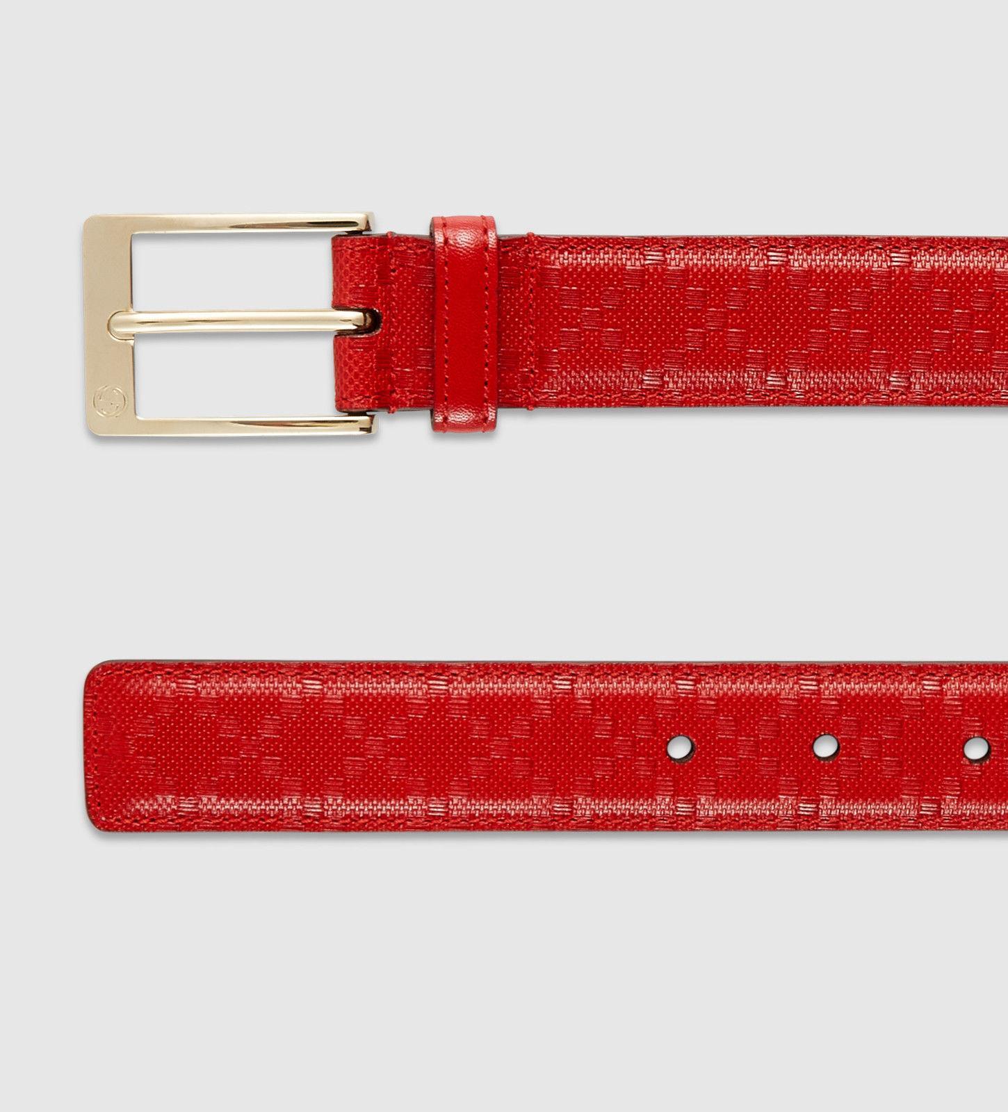 Ysl Belts | Goochie Man | Red Gucci Belt
