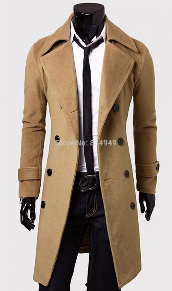 Zara Mens Overcoat | Mens Overcoats | Mens Herringbone Overcoat