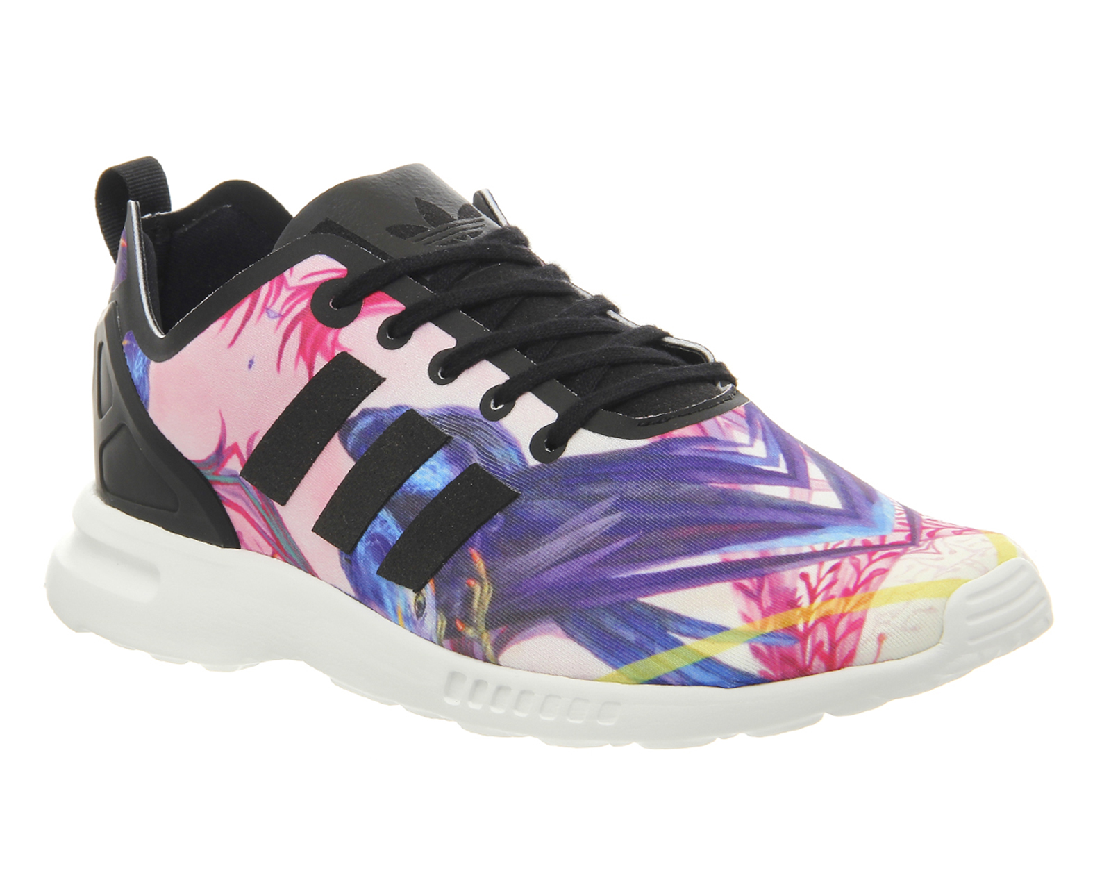 Zx Flux Floral | All Red Adidas Zx Flux | Adidas Reflective Shoes