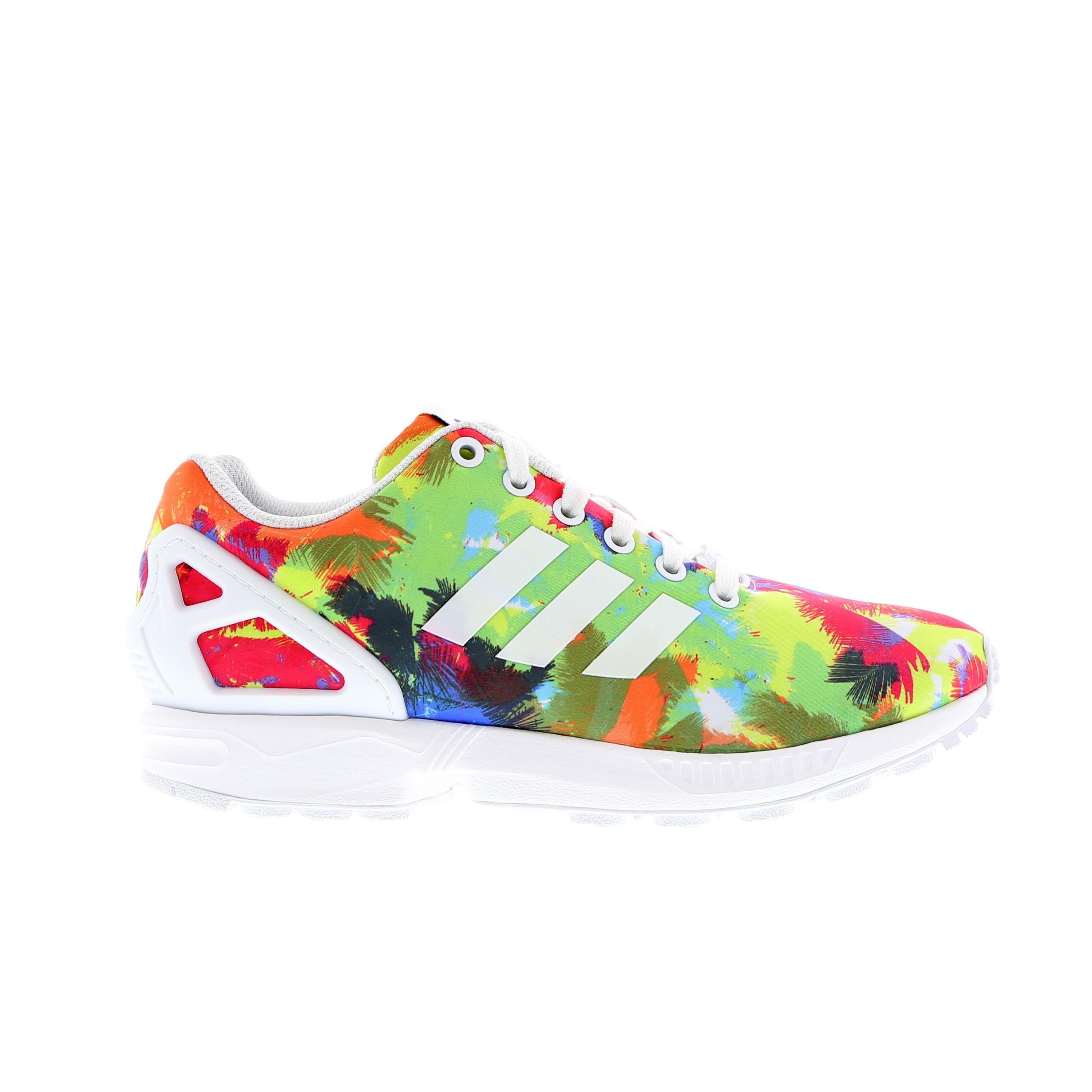 Zx Flux Floral | All Red Zx Flux | Adidas Zx Flux Blue