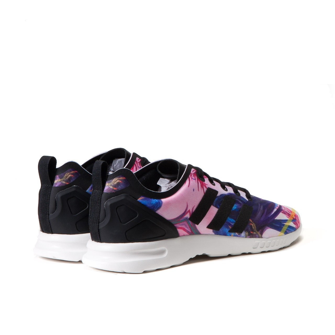 Zx Flux Floral | Fluxs | Red Zx Flux