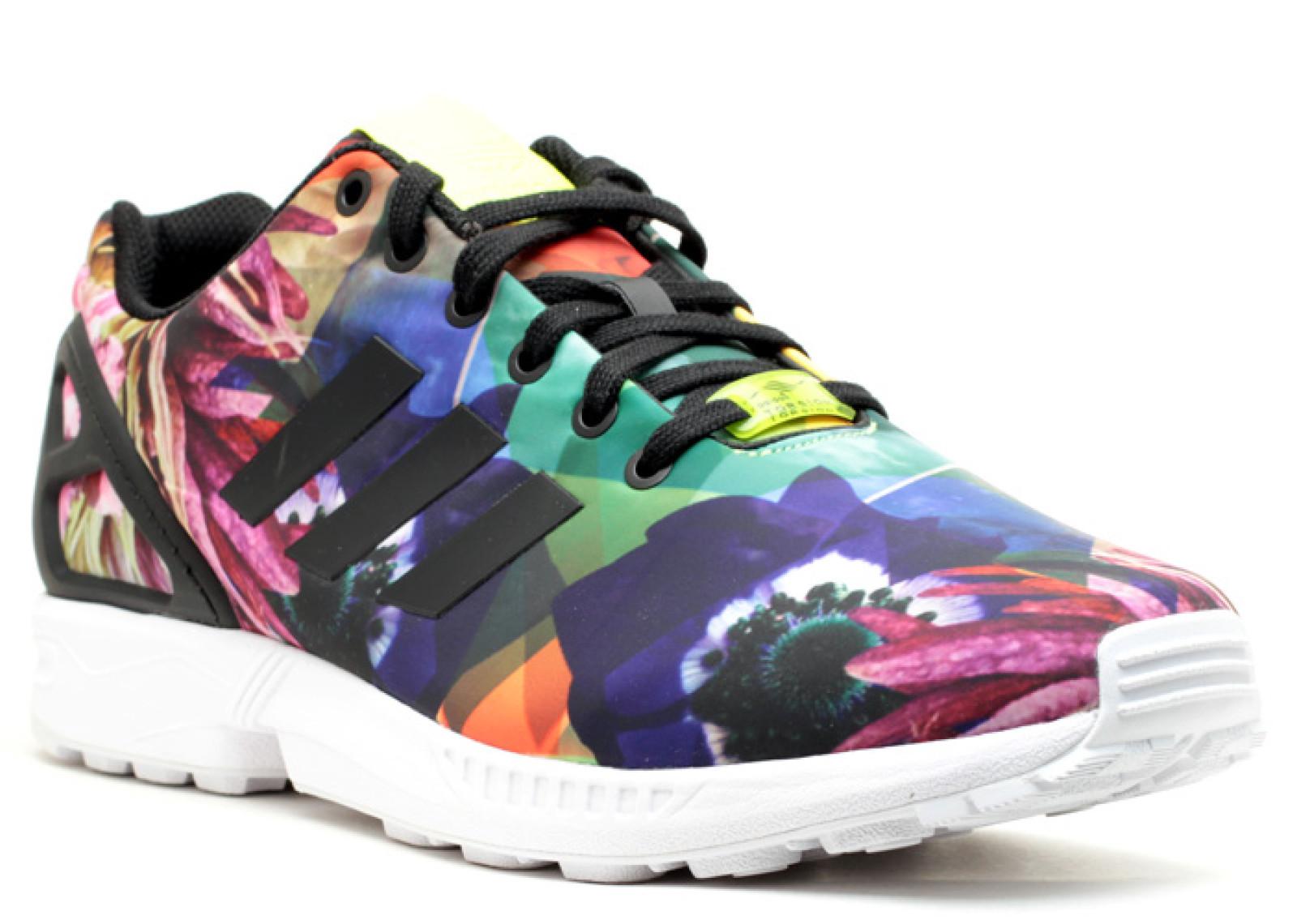 Zx Fluxes | Adidas Zx Flux Lightning | Zx Flux Floral
